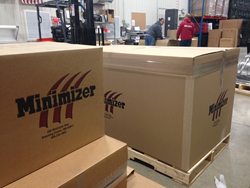 Minimizer shipping department