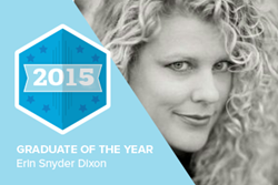 Erin Snyder Dixon headshot Graduate of the year