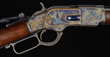Rare and Outstanding Winchester Model 1873; estimated at $35,000-50,000, sold for $57,500.