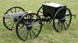 Rare Colt Model 1875 Gatling Gun on Carriage with Limber, estimated at $200,000-300,000; sold for $201,250.
