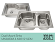 New Dual-Mount Sinks Now Offered by MR Direct