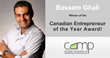 Bassem Ghali Wins the Canadian Entrepreneur of the Year Award