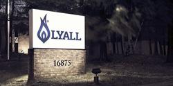 RW Lyall sign