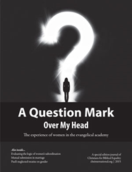 "Image of CBE's journal ""A Question Mark Over My Head"""