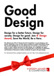 A' Design Award Launches New Global Advertising Campaign: 'Good Design Competition'