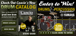 Cascio Interstate Music Drum & Percussion Catalog and Contest