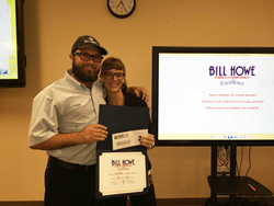 bill howe plumbing, san diego plumber receives excellence award