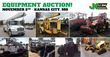 Public Car and Equipment Auction, Kansas City, November 5, 2015