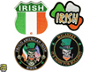 Embroidered Irish Pride Patches