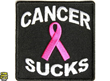 Embroidered Cancer Sucks Patches