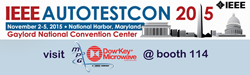 Dow-Key® Microwave Corporation, the world's largest manufacturer of electromechanical switches, announced today that it will be exhibiting at AUTOTESTCON 2015 (Booth 114), being held at the Gaylord National Harbor Convention Center, National Harbor, Maryl