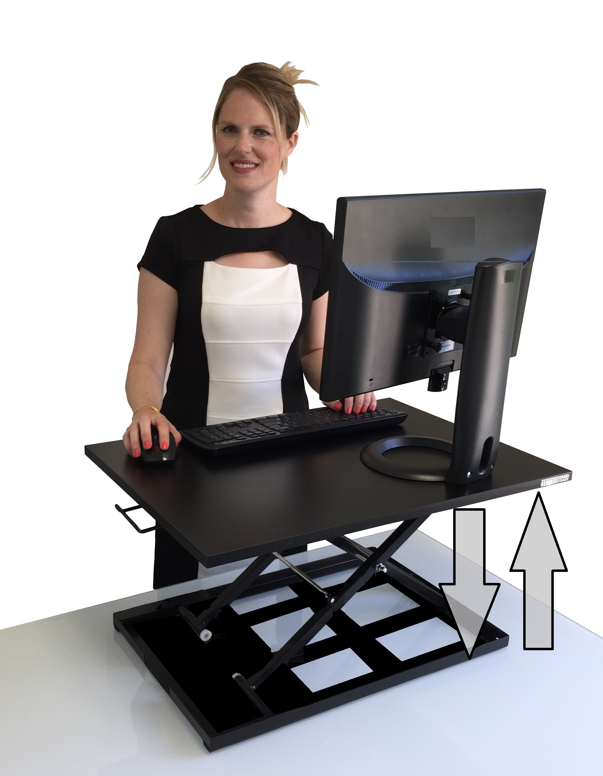 New X Elite Pro Height Adjustable Sit Stand Desk