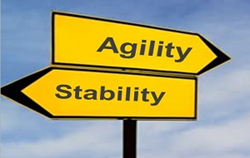 Agility and Stability