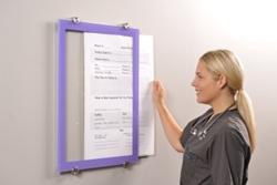 panel swap patient dry erase board