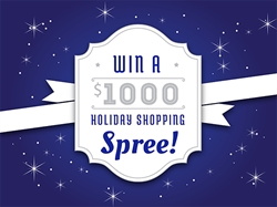 holiday shopping spree, utah dental office holiday giveaway