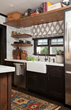 Catherine and Justine Macfee of Catherine Macfee Interior Design Present a Sophisticated Vintner's Kitchen for the 2015 Traditional Home Napa Valley Showhouse