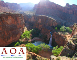 Guided Hiking trip to Havasu Falls with Arizona Outback Adventures