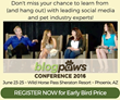 BlogPaws & Cat Writers' Association Offer Paw-sitive Conference Collaboration