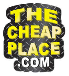 The Cheap Place Biker Patches - Veteran Patches - Humor Patches