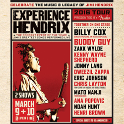 Win Tickets to Experience Hendrix at the Riverside Theater from Cascio INterstate Music