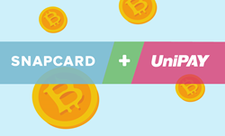 UniPAY rolls out Bitcoin Payments powered by Snapcard!