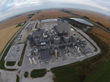 The DuPont biorefinery will produce biofuel from corn stover harvested within 30 miles of the plant.