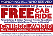 Veterans Day Cab Ride Program Provided by Martin, Harding and Mazzotti, LLP