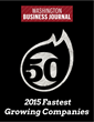 Washington Business Journal's 2015 Top 50 Fastest Growing Companies