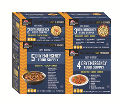 Mountain House Multi-Day Emergency Food Supply Kits