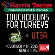 Harris Teeter to Sponsor Charlotte 49ers' Touchdowns for Turkeys