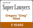 Greg Reed - Super Lawyers
