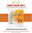 Diablo Publications Launches a Subscription Donation Campaign to Benefit Local Nonprofits