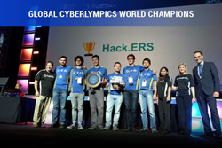 Team Hack.ERS from the Netherlands took the title for the fifth time since Global CyberLympics' inception in 2011.