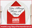 MADD Announces First-Ever National Day of Remembrance