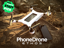 PhoneDrone gives smart phones wings