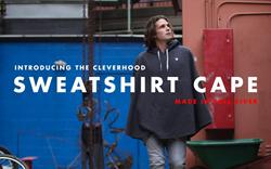 New Cleverhood Sweatshirt Cape