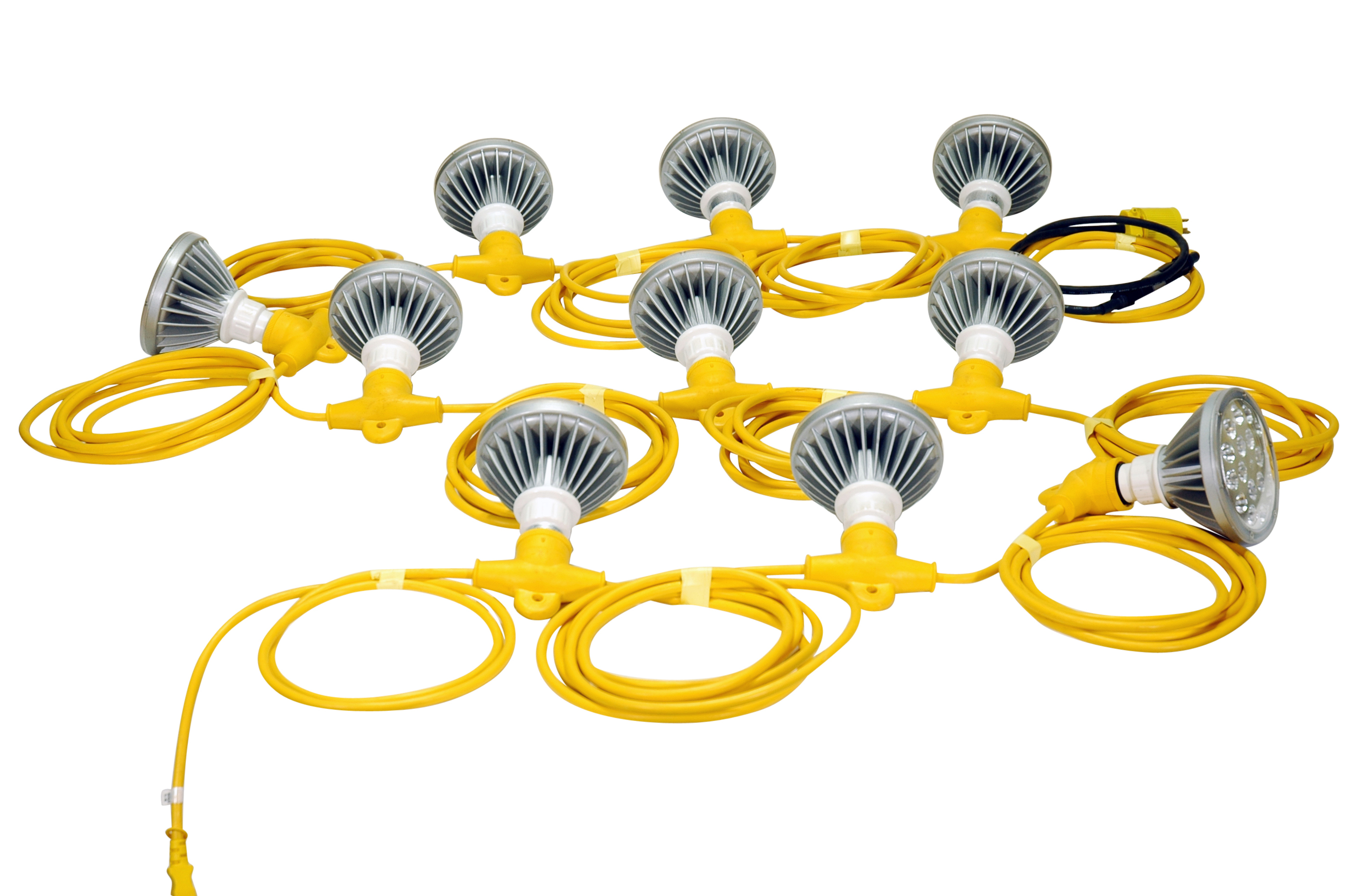 250 Watt Temporary Construction LED String Lights Released by Larson Electronics