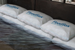 floodsax instant water filled sandless sandbag alternative flood sacks