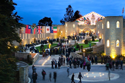 MORE THAN 7,500 SCIENTOLOGISTS converged on Saint Hill in the United Kingdom to celebrate 31 years of sweeping accomplishment and spectacular triumph for the International Association of Scientologists (IAS) on Friday, October 23.
