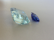 Two gemstones to be set together as one