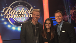 The Bachelor Contestants, Sean and Catherine Lowe, Compete on Game...