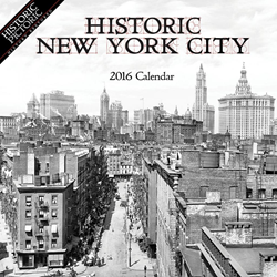 Historic Pictoric New York City 2016 calendar cover image