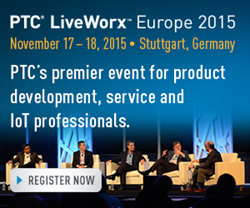 Sigmetrix will be a Silver sponsor of PTC LiveWorx Europe 2015