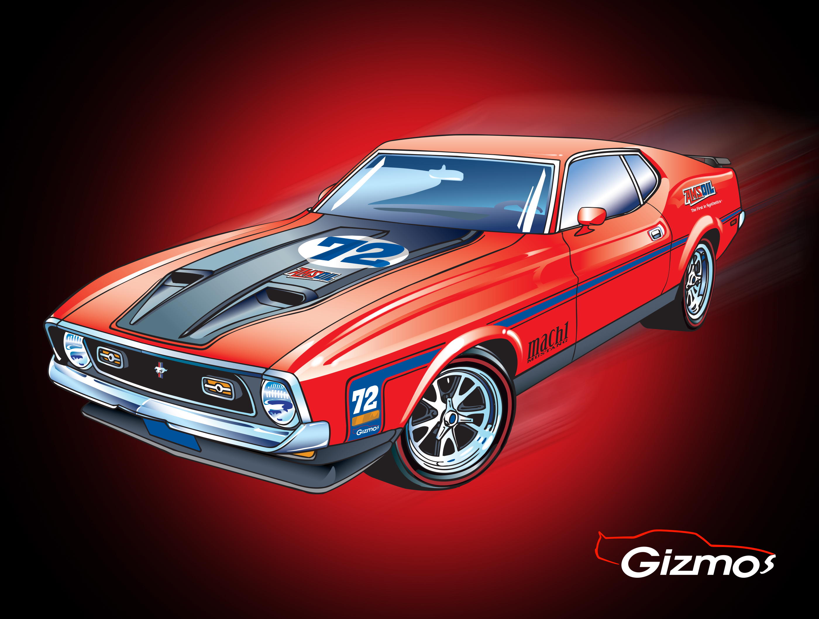 Fully modified 1972 ford mustang mach 1 to be given away