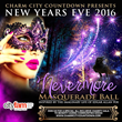 NEVERMORE New Years Eve 2016: Thurs, Dec 31 @9pm.