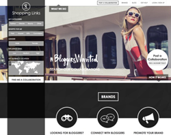 Shopping Links Influencer Marketing and Blogger Collaboration Platform