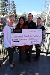 Proceeds raised at the 2015 Christel House Open contribute to large donation from BGV to the Summit Foundation.