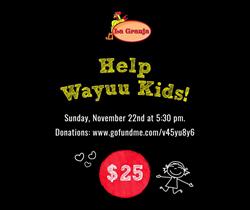 fundraiser La Granja, colombian kids, wayuu kids
