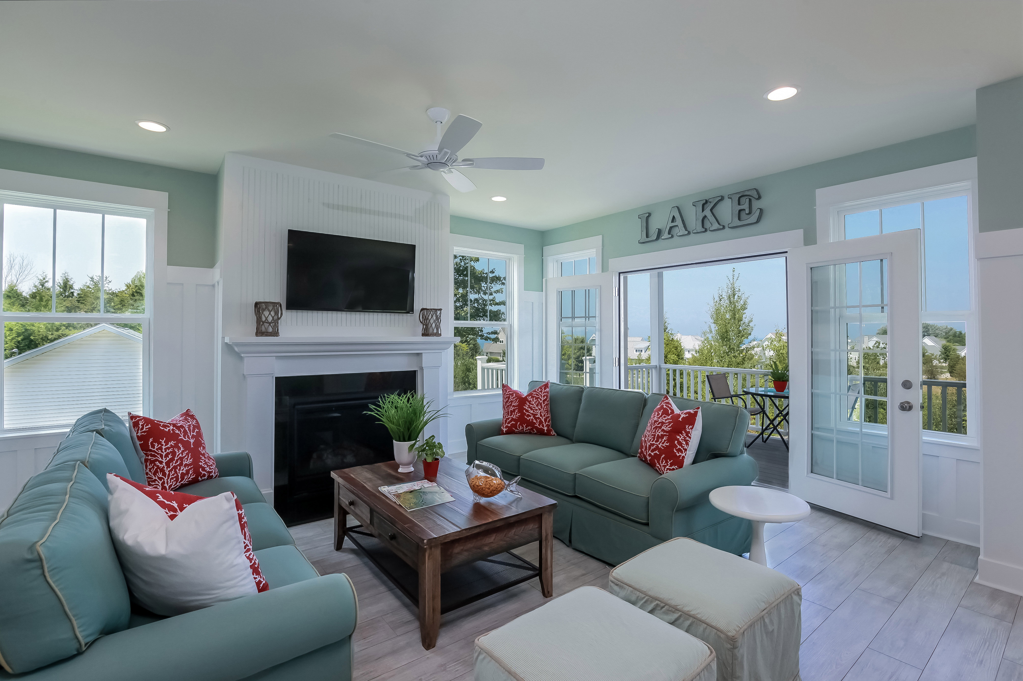 Ritz craft custom homes honored by national awards program - Images of living room decor ...