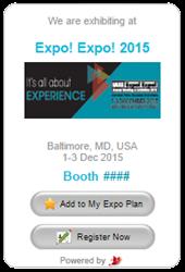 IAEE EXPO! EXPO! eBooth Promotion Widget